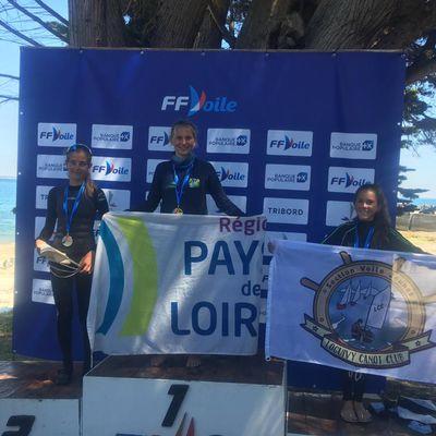 Championnat de France optimist 2021 à Quiberon : nouveau podium pour le Loguivy Canot Club