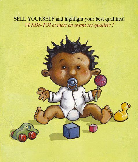 """Série de trois livres """"pour enfants à partir de trois mois""""."""