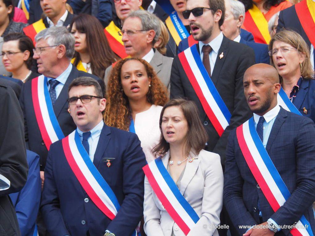 588èmes Fêtes de Jeanne d'Arc : Olivier CARRE Député Maire d' ORLEANS célèbre le destin commun des communes de la Métropole