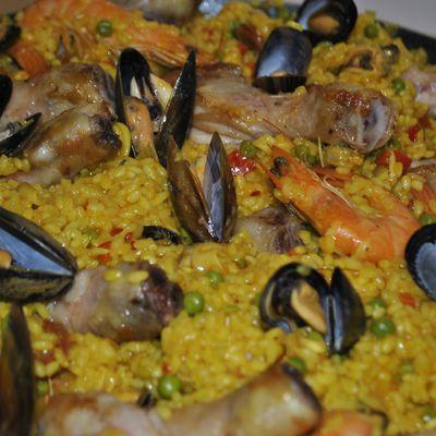 Paella simple et bonne