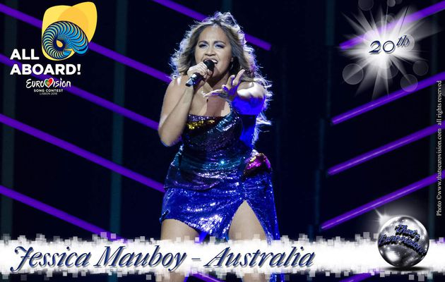 Australia - Jessica Mauboy - 20th All Aboard !