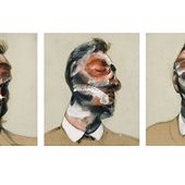 Francis Bacon triptych of burglar turned muse put up for auction
