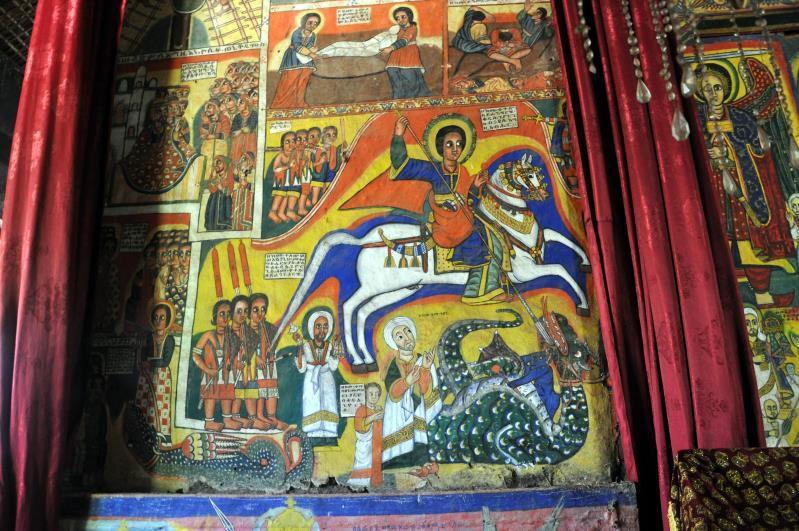 Ethiopie, Bahir Dar, Ura Kidane Mehret