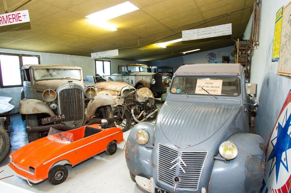 Musée auto - moto de Talmont-Saint-Hilaire -