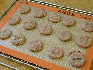 COOKIES CHOCOLAT NOISETTE (thermomix)