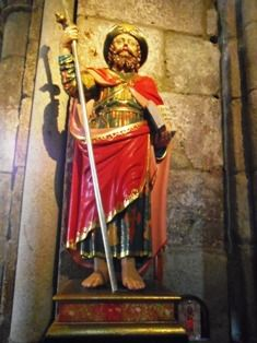 Fisterra : église romane de Santa Maria das Areas.