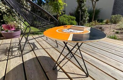 Une table basse pour ma terrasse