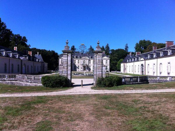 Vues du Château, chapelle,expo MURS MURS, et plus.......