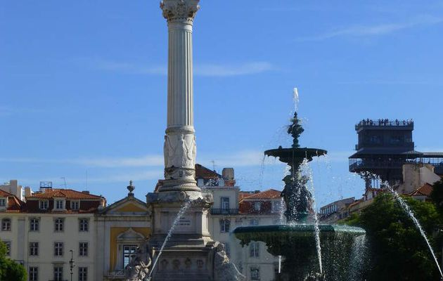 Lisbonne Septembre 2016 - part 1 : Rossio