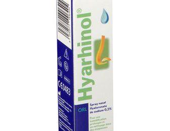 Hyarhinol spray (pour le traitement de la muqueuse nasale abîmée)