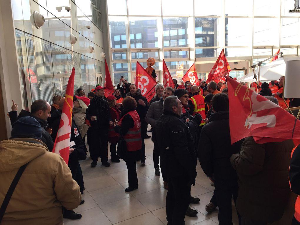 NAO : le rapport de force engagé  oblige la Direction a écouter les salariés !