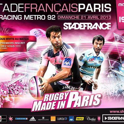Match de rugby au stade de France !!!