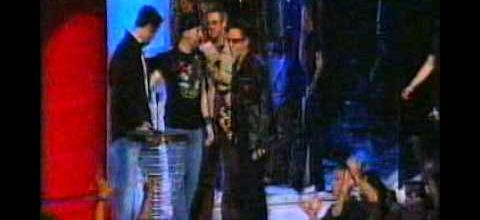 U2 - MTV Music Video Awards -Metropolitan Opera House - New York -06/09/2001