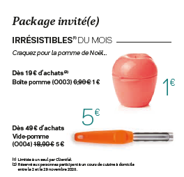 Package invité(e) novembre 2020