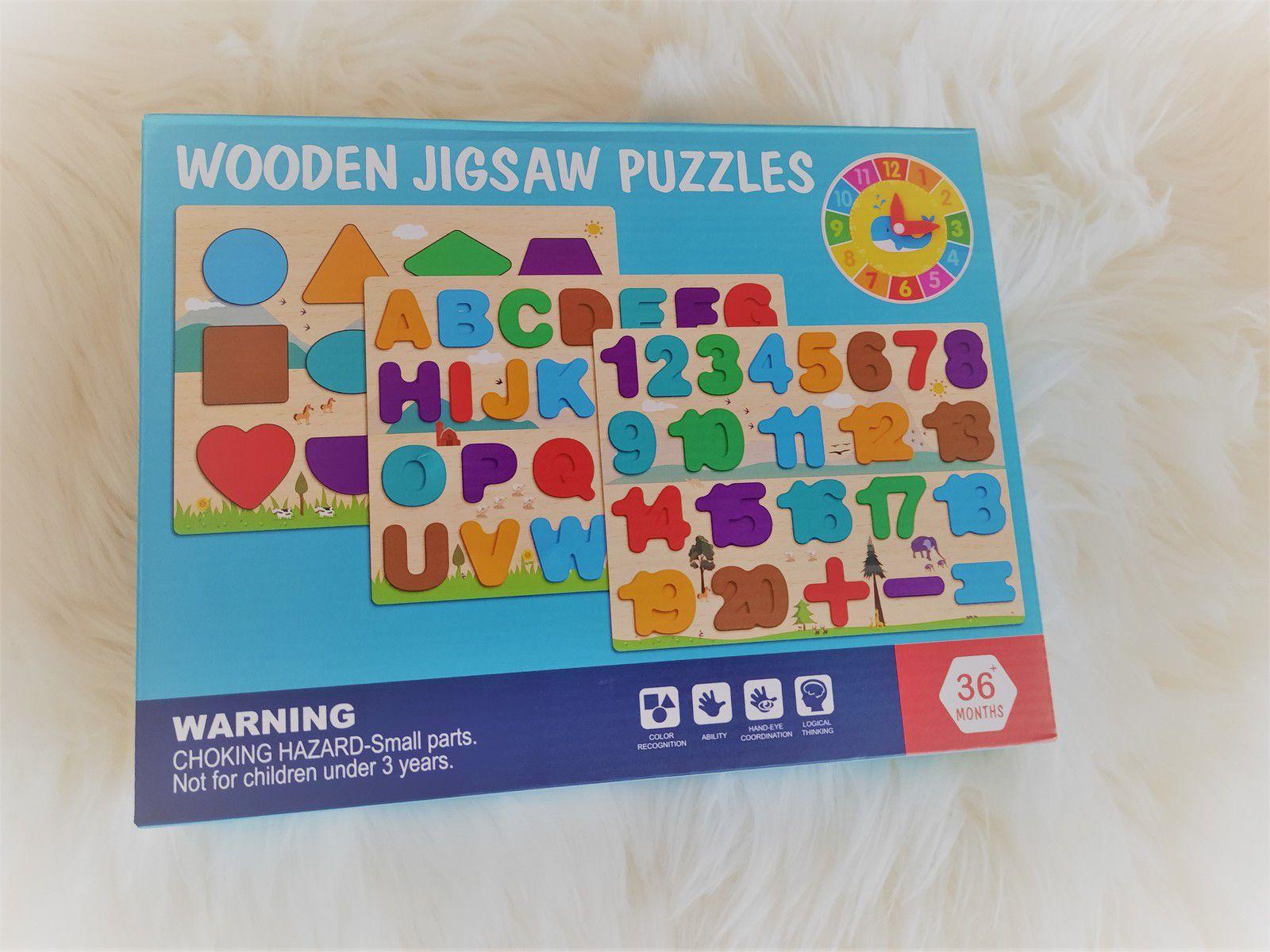 Puzzle Bois Enfant
