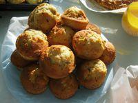 mes muffins noisettes, banane et citron
