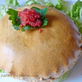 Mini tourte de calamar et gambas - Cuisine gourmande de Carmencita