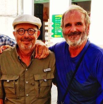 Santiago : la rencontre de deux vieux complices.