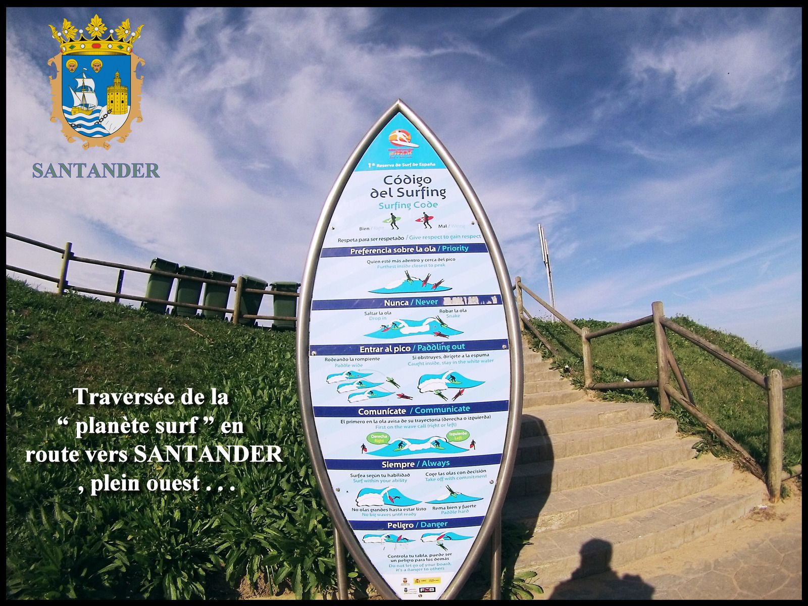 la planète surf à Santander - CHEMIN CÔTIER - goelandmedia.prodàgmail.com (c)