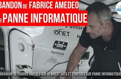 Vendée Globe 2020 - Fabrice Amédéo abandonne sur panne informatique