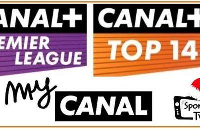 [Infos TV] Lancement de CANAL+ Premier League et CANAL+ Top 14 sur myCANAL !