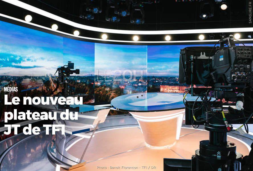 Le nouveau plateau du JT de TF1 (diaporama + vidéo) #nouveauJTTF1