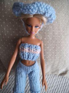 DIY ensemble pantacourt Barbie