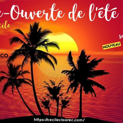 Porte-Ouverte de l'été PartyLite : les 27-29-30 juin et 1er juillet 2020