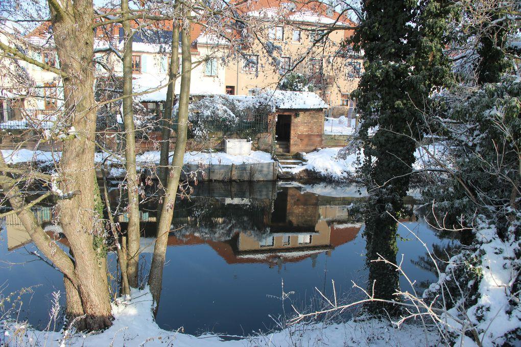 Canal gelé