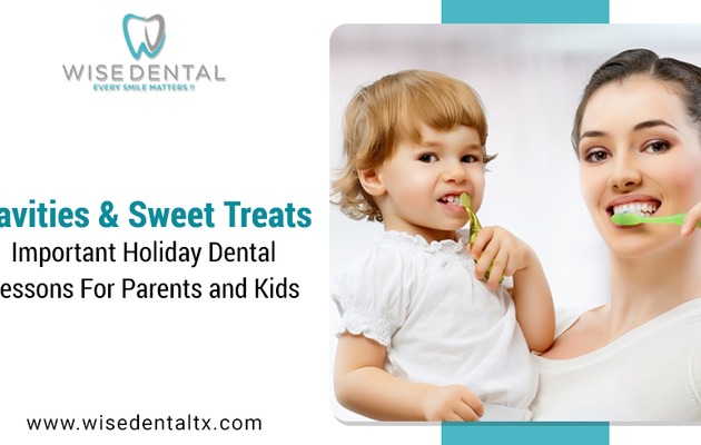Cavities and Sweet Treats: Important Holiday Dental Lessons for Parents and Kids