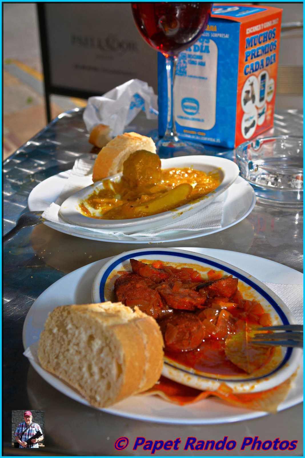 Toujours dans la semaine de la Vuelta, d'ou photos du Tour & des beaux coins Andalous