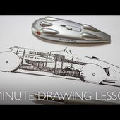 5 Minute (ish) Drawing Lesson - Napier Railton