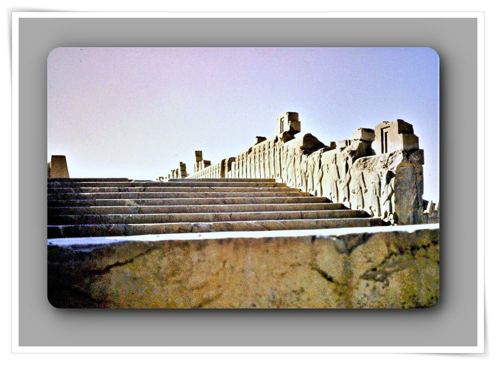 Iran 1974 - diapositives - Persepolis