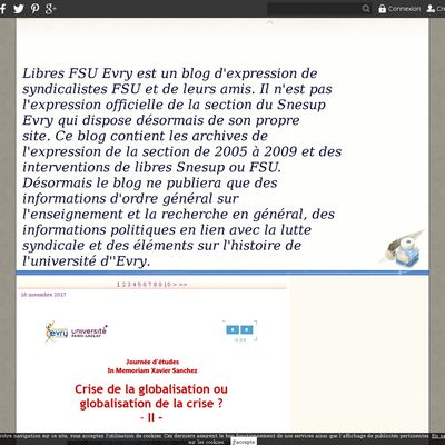 Libre FSU Université d'Evry