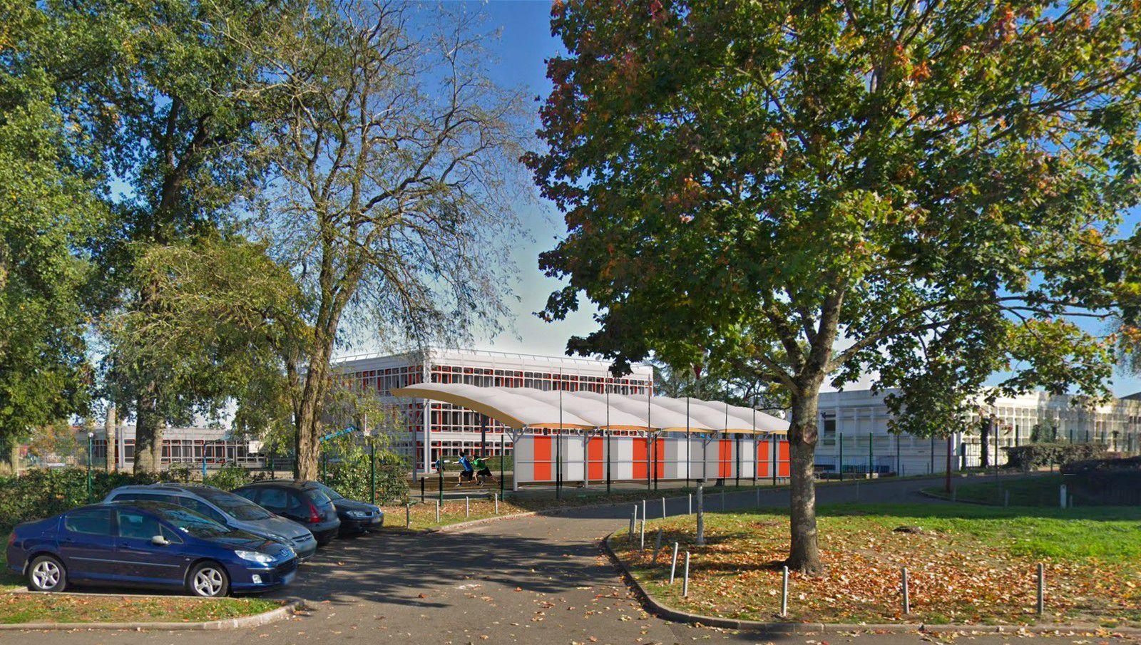 Les travaux de restructuration du Collège Bérengère de Navarre (Les Sources) sont lancés.