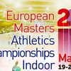 Championnat d'Europe Indoor Masters  à Madrid