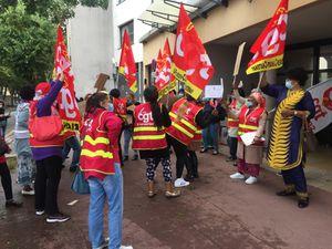 Korian Bel Air Clamart, 2ème jour de grève !