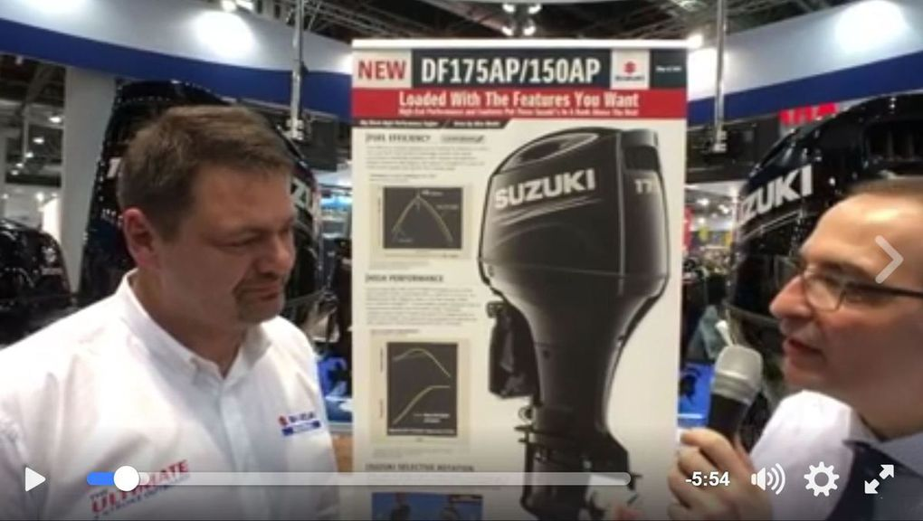 Live from BOOT - 2 new outboard engines by Suzuki Marine