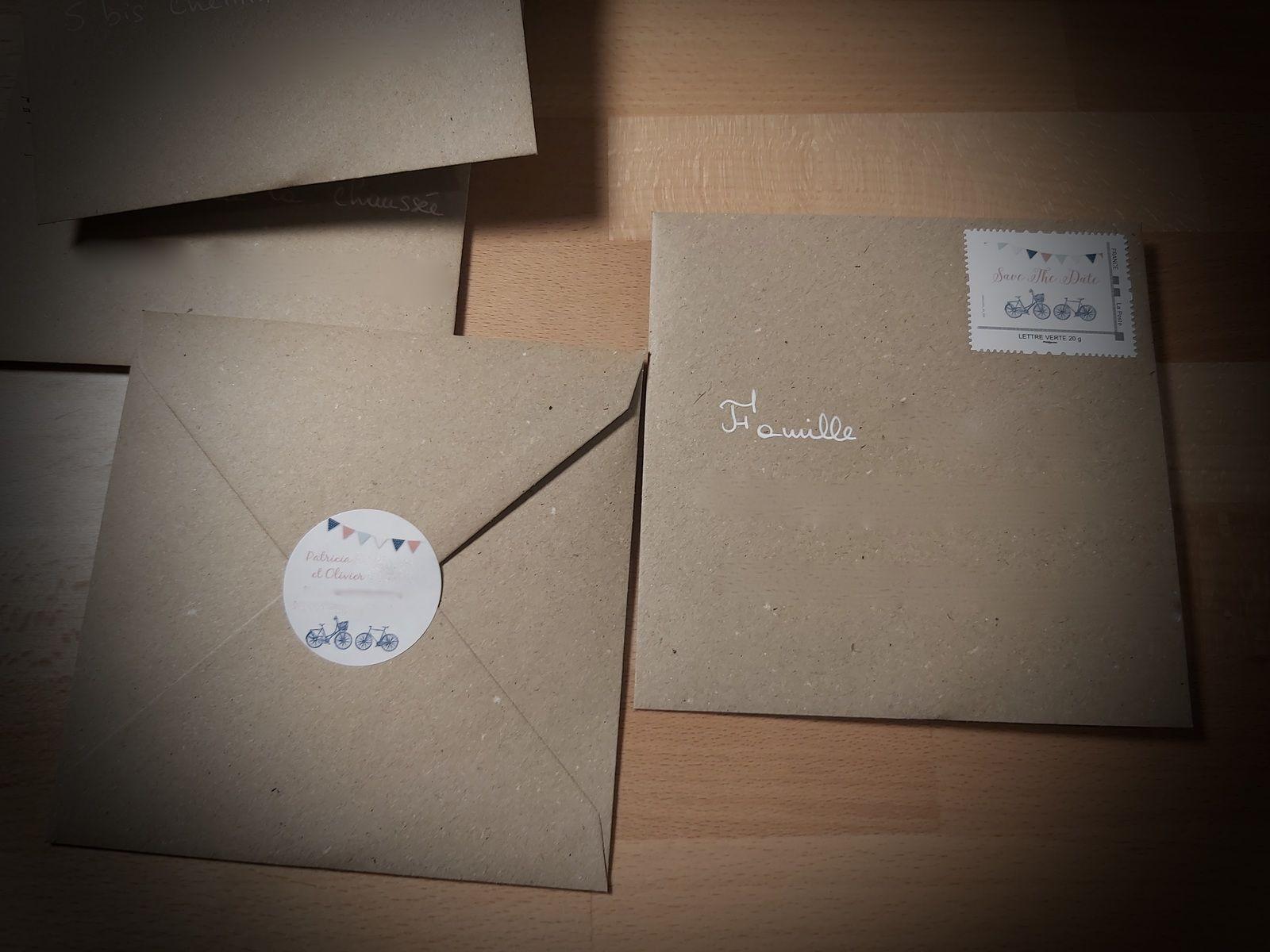 options rsvp (coupon réponse) visuel timbre et étiquette adhésive pour les enveloppes assorties au faire part de mariage #efdcbysoscrap