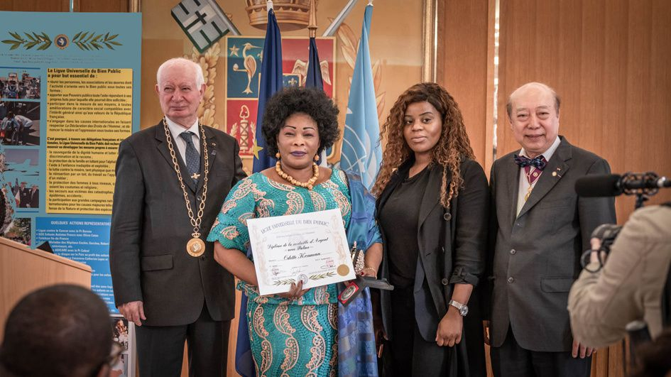 REMISE DISTINCTIONS DU 24 MAI 2019