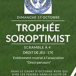 Dimanche 17 octobre: scramble à 4