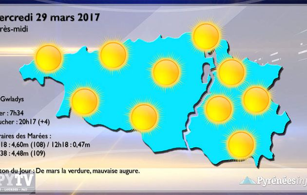HPyTv Pyrénées :: La Météo des Hautes-Pyrénées et des Pyrénées-Atlantiques