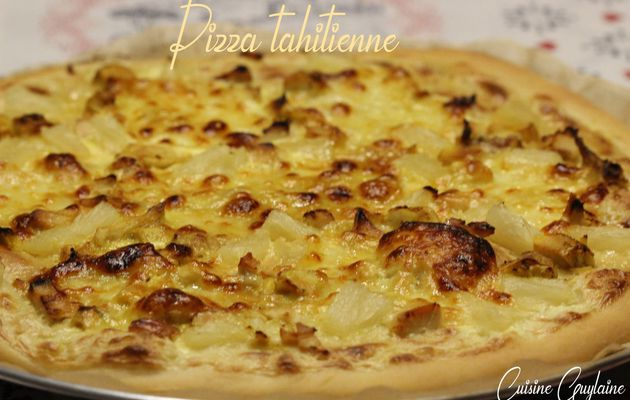 Pizza tahitienne