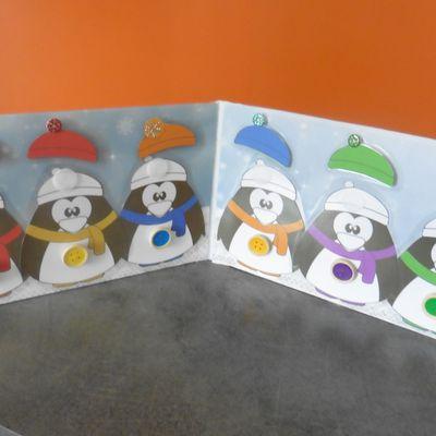 Les Pingouins sur la banquise (jeu fait maison)