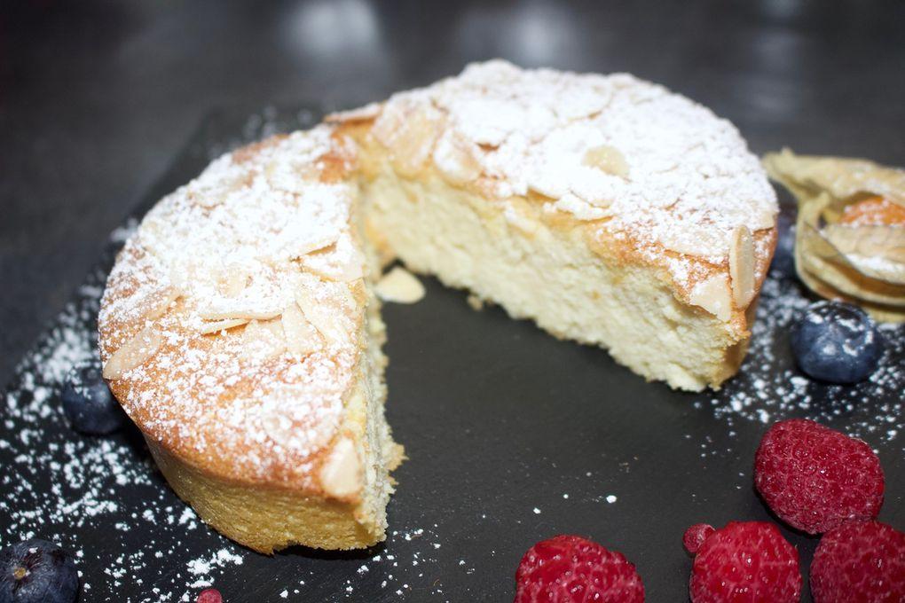 Gâteau aux amandes et à la ricotta