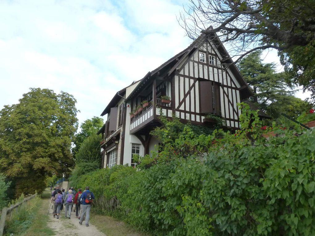 Randonnée de Triel-Sur-Seine à Meulan - 12,77 km.