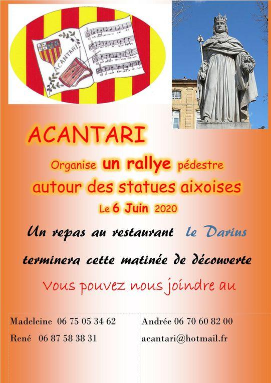 9 juin 2021 Rallye des statues Aixoises