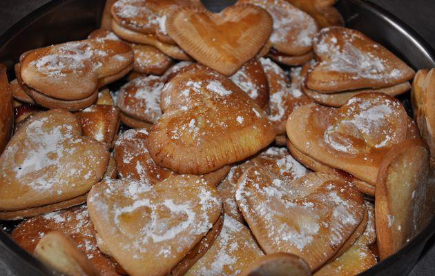 Petits gâteaux de la St Valentin