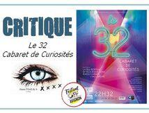 🎭 OFF19 - Le 32, Cabaret des Curiosités.