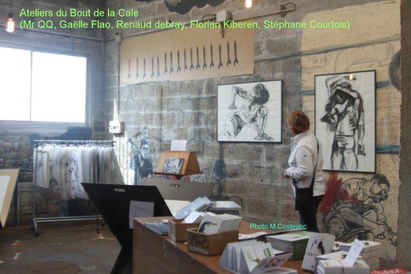 RAD'ART 2016 _ portes ouvertes dans les ateliers d'artistes à Locmiquélic, Riantec, Port-Louis